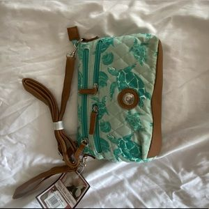 Sea Turtle cross body purse